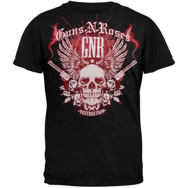 Guns N Roses - Destruction Skull T-Shirt