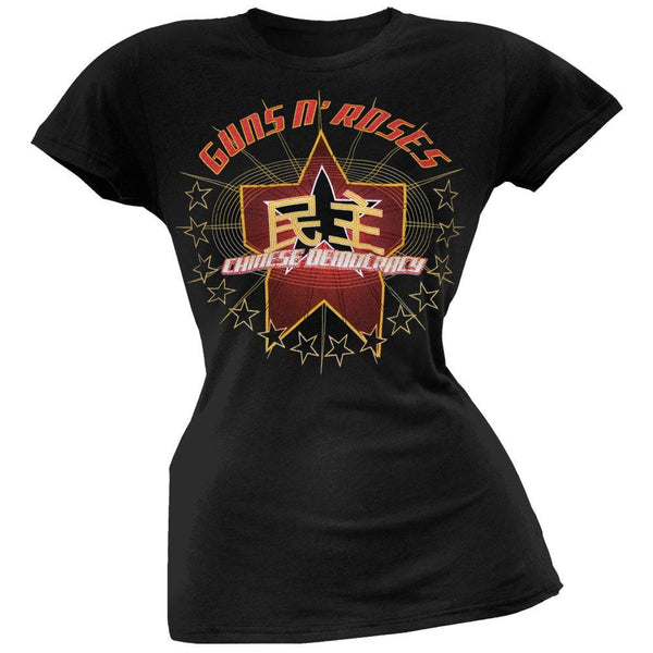 Guns N Roses - Glitter Star Juniors T-Shirt