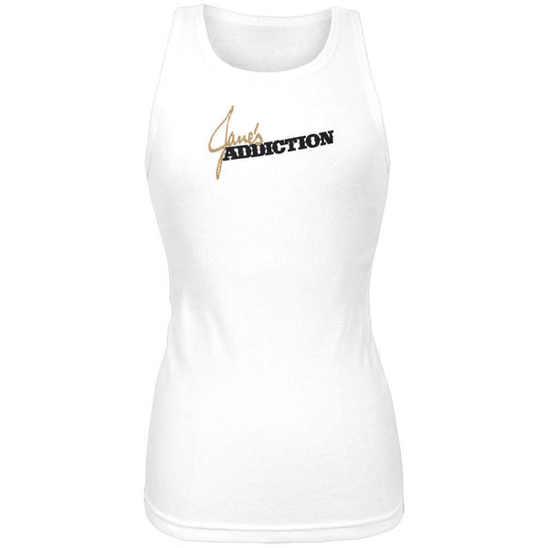 Janes Addiction - Classic Logo Juniors Tank Top