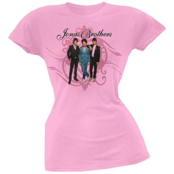 Jonas Brothers - Crest Swirl Girls Youth T-Shirt