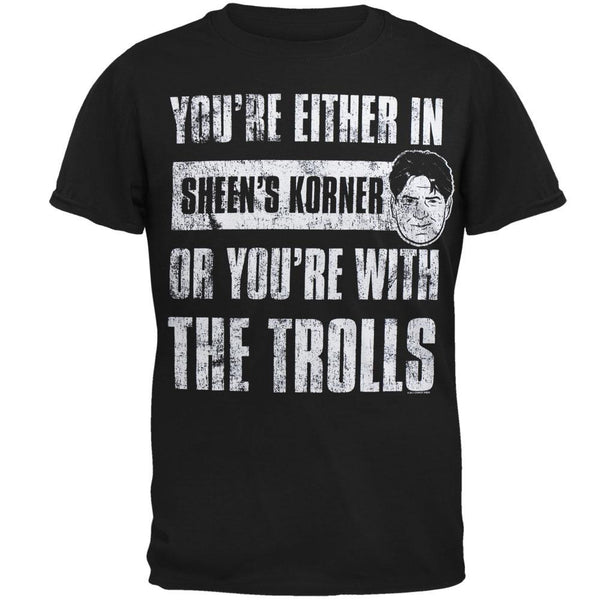 Charlie Sheen - With The Trolls T-Shirt