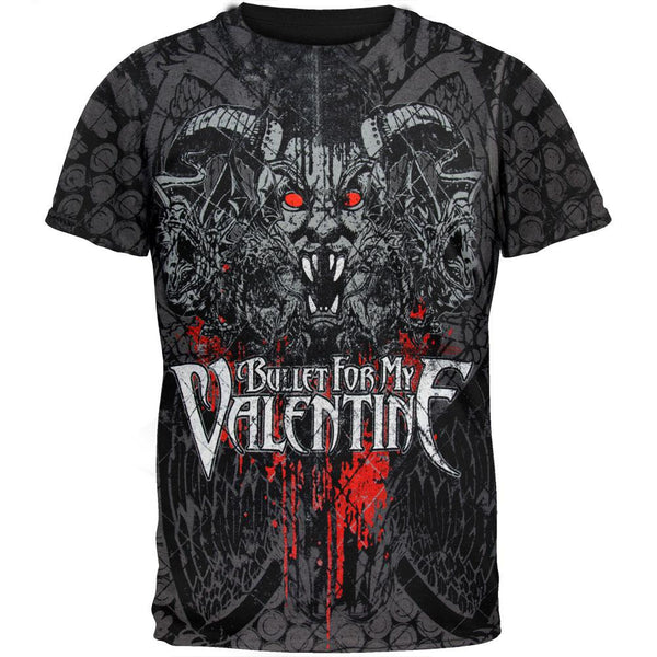 Bullet For My Valentine - Demon All-Over T-Shirt