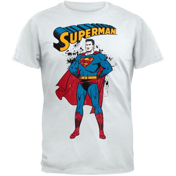 Superman - Distressed Stance T-Shirt