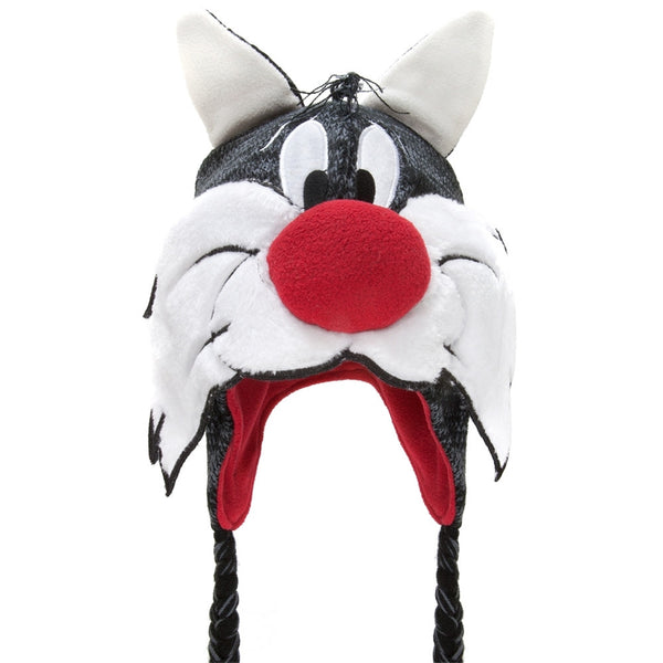 Looney Tunes - Sylvester Big Face Peruvian Knit Hat