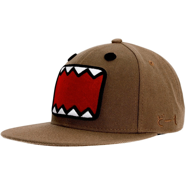 Domo - Small Face Fitted Brown Cap