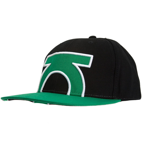 Green Lantern - Cropped Logo Fitted Cap