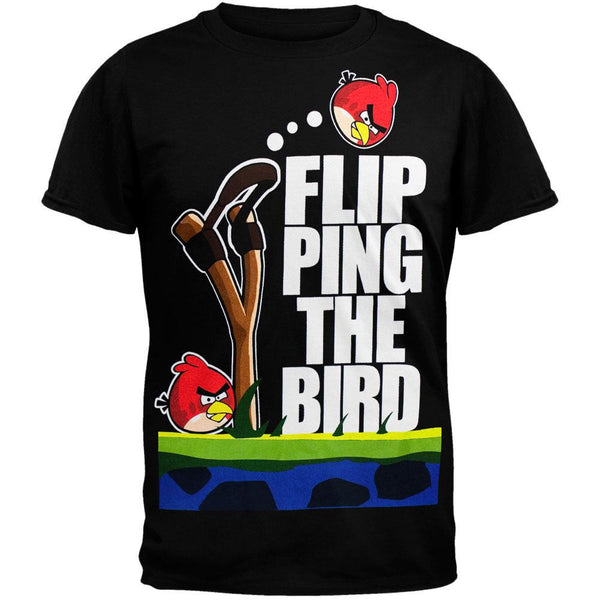Angry Birds - Bird Flip Soft T-Shirt