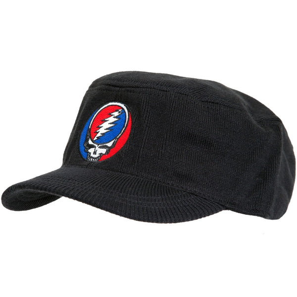 Grateful Dead - Stealie Black Knit Cadet Cap