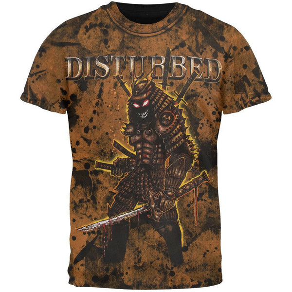 Disturbed - Warrior All Over T-Shirt