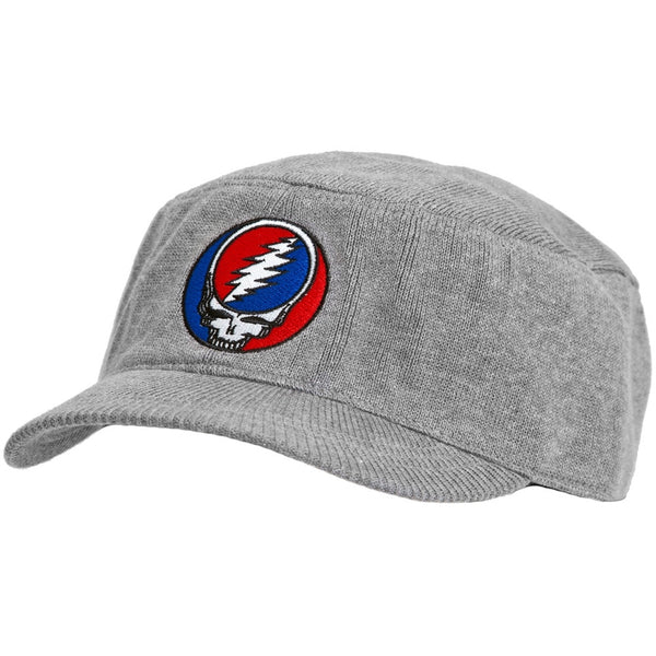 Grateful Dead - Stealie Grey Knit Cadet Cap