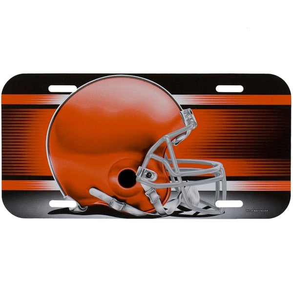 Cleveland Browns - Helmet License Plate