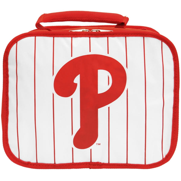 Philadelphia Phillies - Logo White & Red Soft Lunch Box