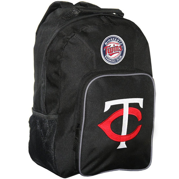 Minnesota Twins - Logo Medium Black Backpack