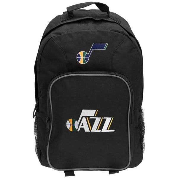 Utah Jazz - Logo Medium Black Backpack