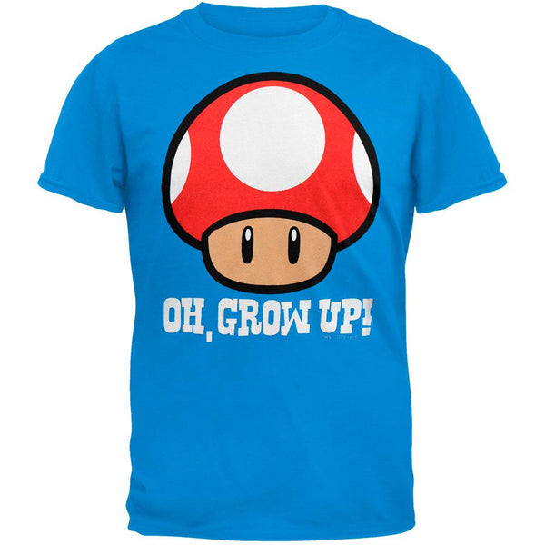 Nintendo - Grow Up Blue T-Shirt