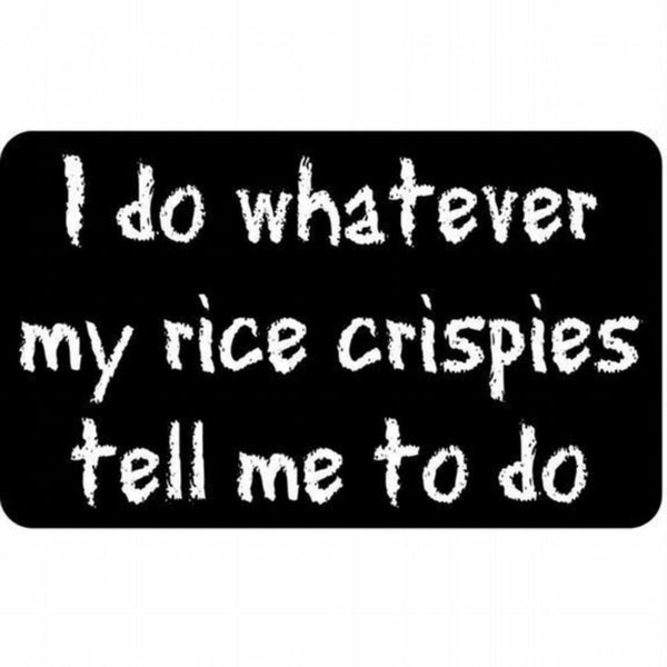 Rice Crispies Decal