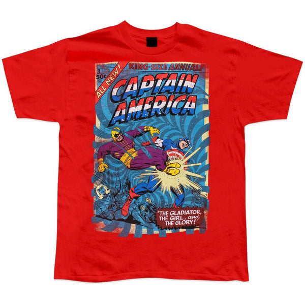 Captain America - King Size Soft T-Shirt