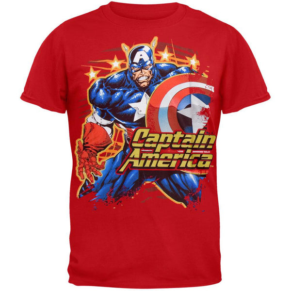 Captain America - American Grizzly Youth T-Shirt