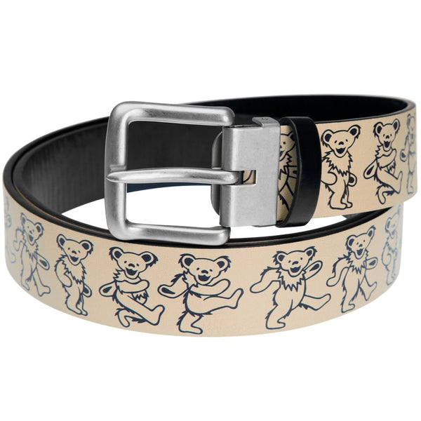 Grateful Dead - Dancing Bears Leather Belt