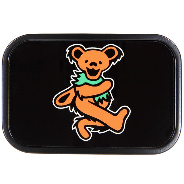 Grateful Dead - Orange Dancing Bear Belt Buckle