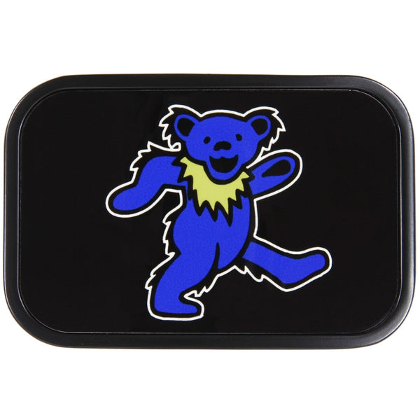 Grateful Dead - Blue Dancing Bear Belt Buckle