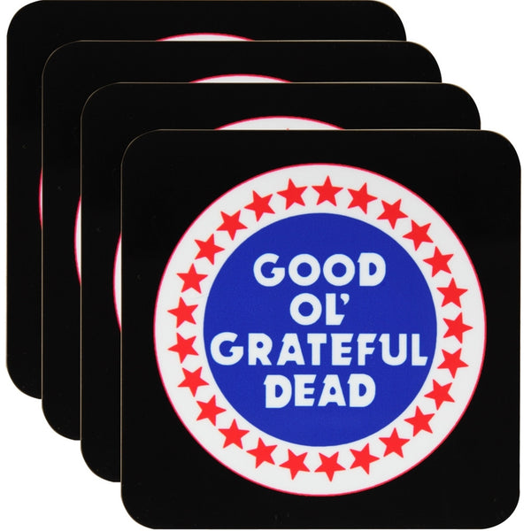 Grateful Dead - Good Ol' 4 Piece Coaster Set