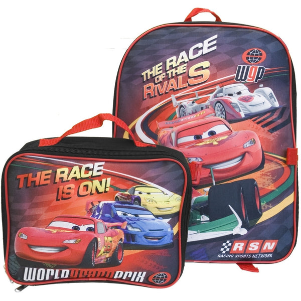 Cars - The Race Is On Medium Backpack with Detachable Case