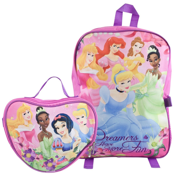 Disney Princesses - Dreamers Medium Backpack with Detachable Case