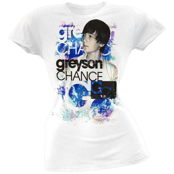 Greyson Chance - Painted Juniors T-Shirt