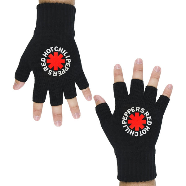 Red Hot Chili Peppers - Asterisk Fingerless Gloves