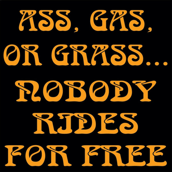 Ass, Gas Or Grass Decal
