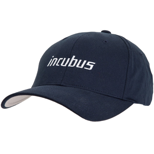 Incubus - White Logo Fitted Baseball Cap