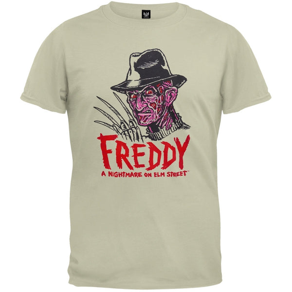 Nightmare On Elm Street - Drawn Soft T-Shirt
