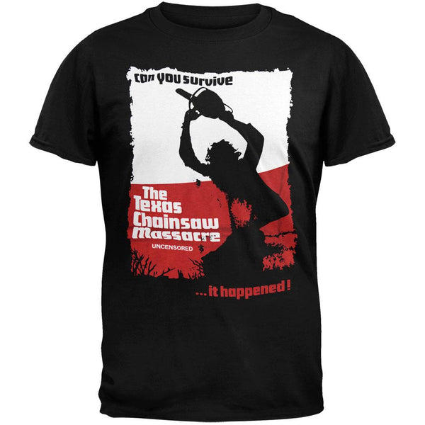 Texas Chainsaw Massacre - Can You Survive Soft T-Shirt