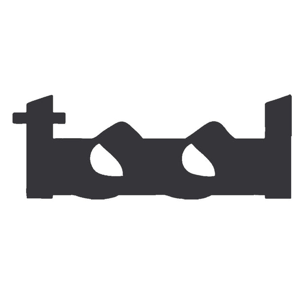 Tool - Black Logo Cutout Decal