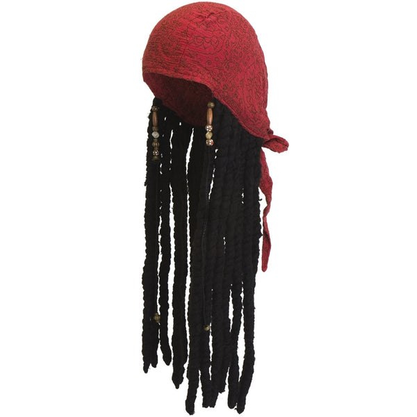 Pirates Of The Caribbean - Jack Sparrow Scarf With Dreads