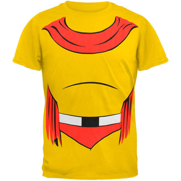Mighty Mouse - Man Or Mouse Body Costume T-Shirt