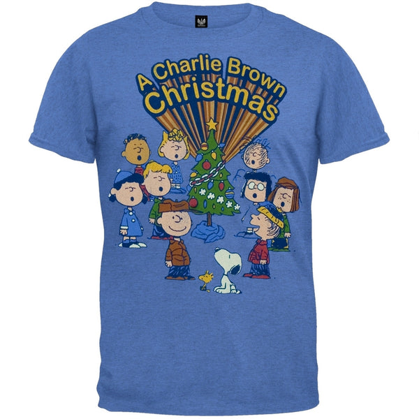 Peanuts - Retro Christmas Soft T-Shirt