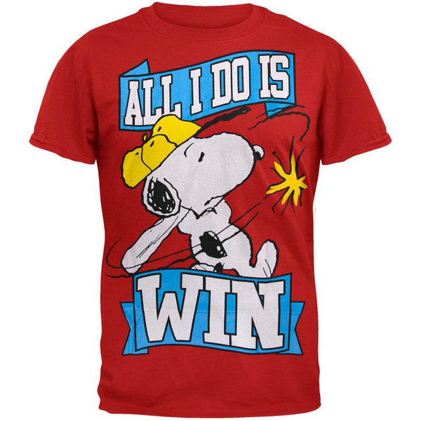 Peanuts - All I Do Is Win T-Shirt