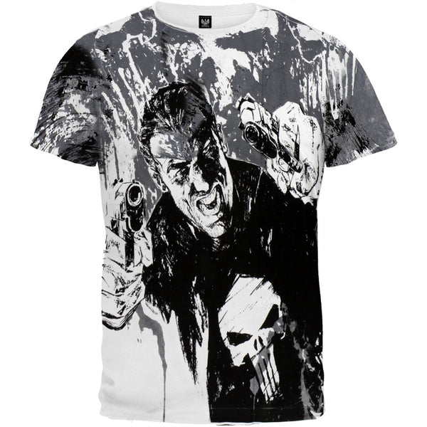 Punisher - Double Fisted All-Over T-Shirt