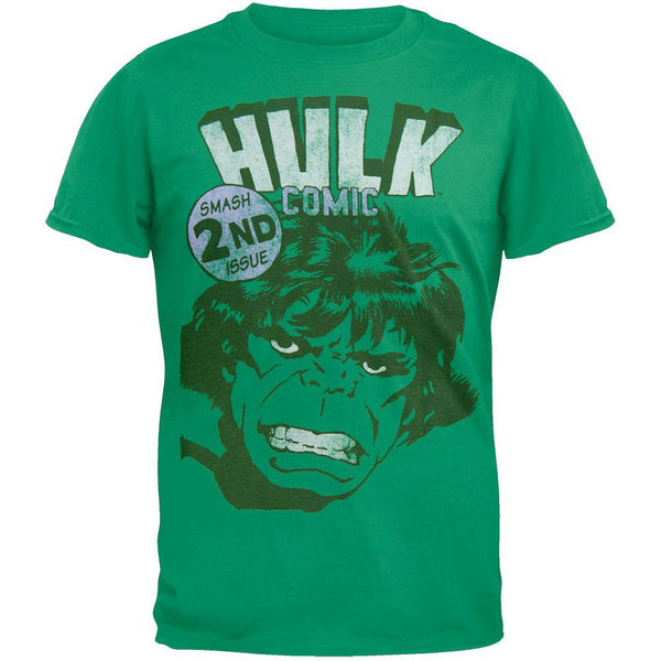 Incredible Hulk - Smash 2nd Issue Soft T-Shirt