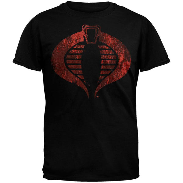 G.I. Joe - Cobricon Soft Black T-Shirt