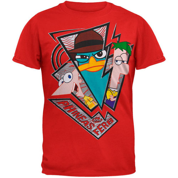 Phineas And Ferb - Broken Trip Youth T-Shirt