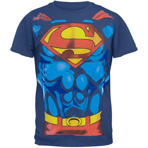 Superman - Costume Blue T-Shirt
