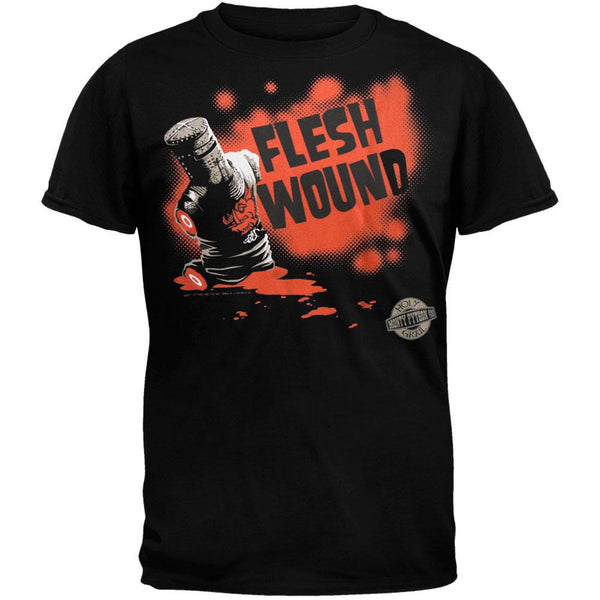 Monty Python - Flesh Wound Graphic Adult T-Shirt