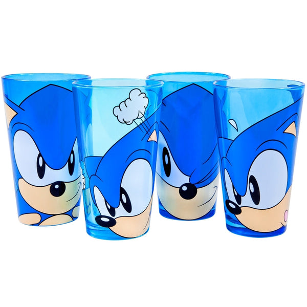 Sonic The Hedgehog - Face Pint Glass Set