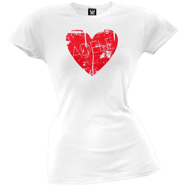 Adele - Heart Juniors T-Shirt