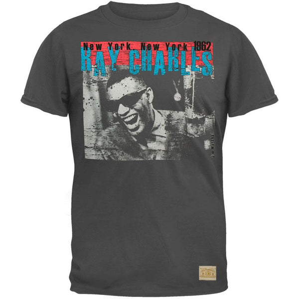 Ray Charles - Atlantic Records Overdye T-Shirt