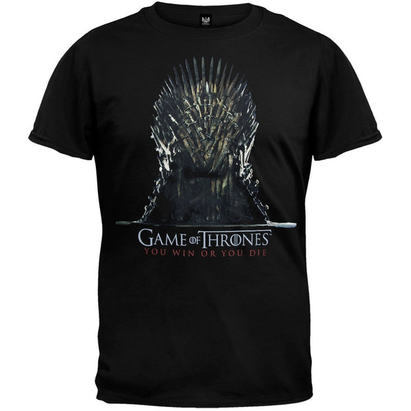 Game Of Thrones - Empty Soft T-Shirt