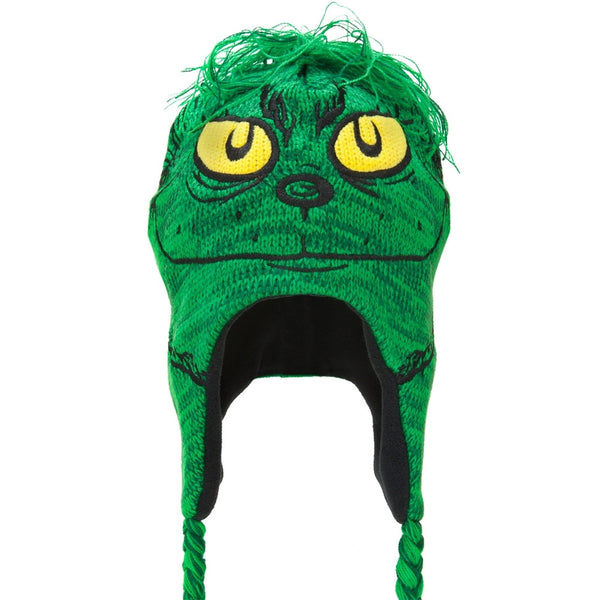 Dr. Seuss - Mohawk Grinch Peruvian Knit Hat